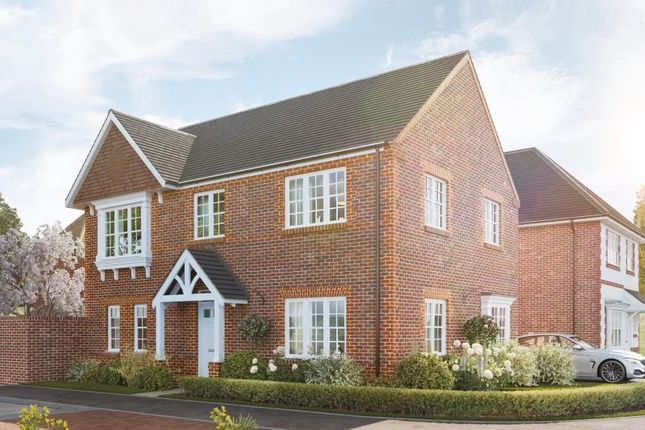 """Thumbnail Detached house for sale in """"The Longstock"""" at Kennedy Meadow, Hungerford"""