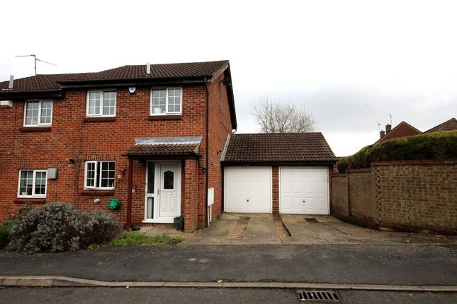 Thumbnail Semi-detached house for sale in Muirfield Road, Wellingborough, Northamptonshire.