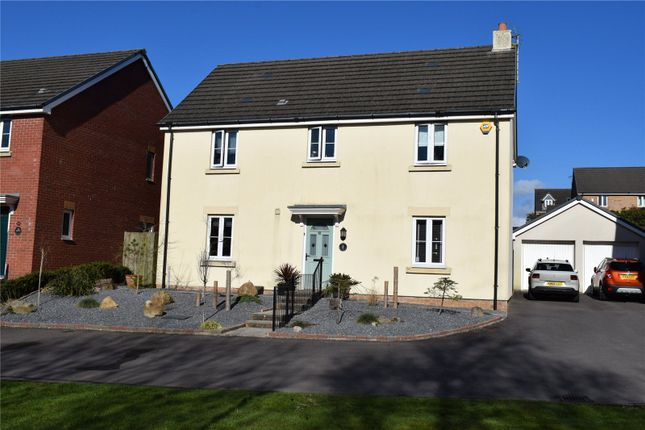 Thumbnail Detached house for sale in Swallow Close, North Cornelly, Bridgend