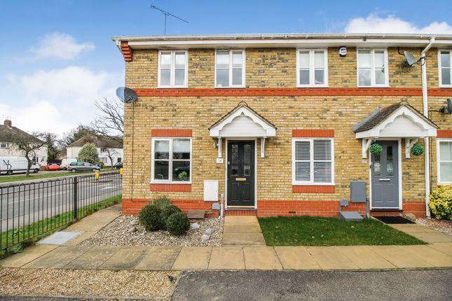 Thumbnail End terrace house for sale in Eldergrove, Farnborough, Hampshire