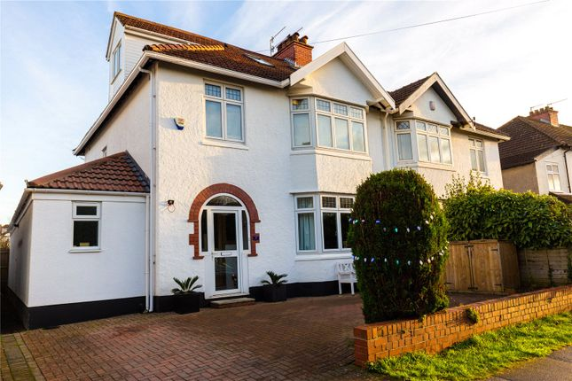 Thumbnail Semi-detached house for sale in Woodland Grove, Stoke Bishop, Bristol