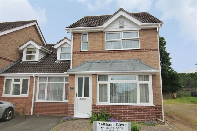 Thumbnail Detached house for sale in Meltham Close, Beau Manor, Northampton