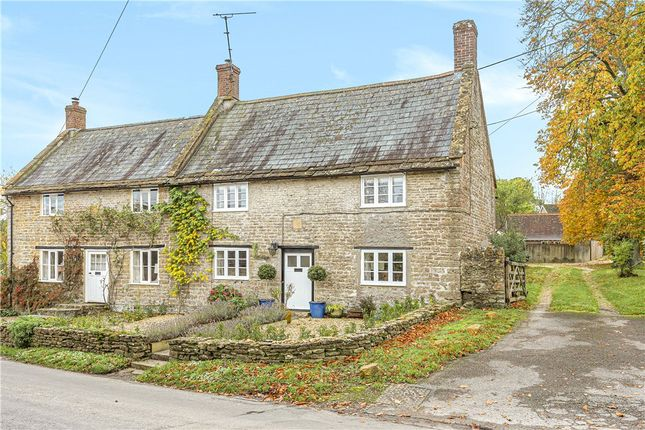 Thumbnail Semi-detached house for sale in Iles Cottages, Leigh, Sherborne, Dorset