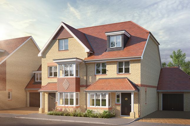 Thumbnail Semi-detached house for sale in Jubilee Meadows, Felcott Road, Hersham, Surrey
