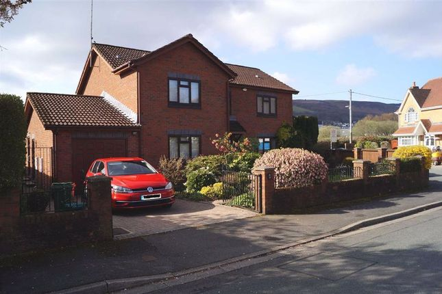 Thumbnail Detached house for sale in Plasdraw Road, Aberdare