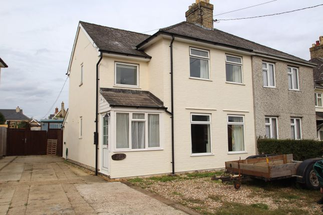 Thumbnail Semi-detached house for sale in Stowupland Road, Stowmarket