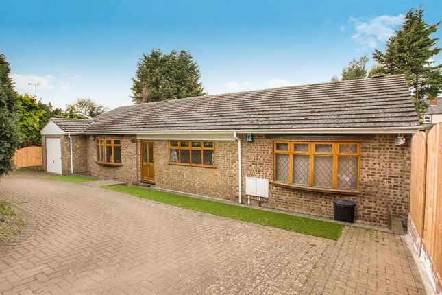Thumbnail Detached bungalow for sale in Grove Road, Thrapston, Kettering