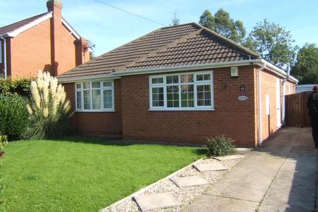 Thumbnail Detached bungalow to rent in Highfield Road, North Thoresby, Grimsby