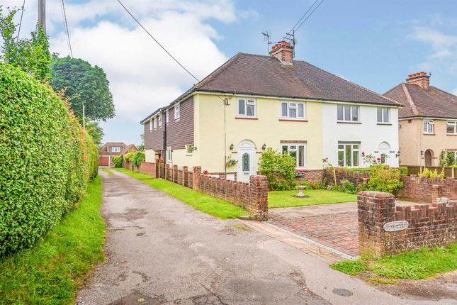 Thumbnail Semi-detached house for sale in Vicarage Road, Crawley Down, Crawley