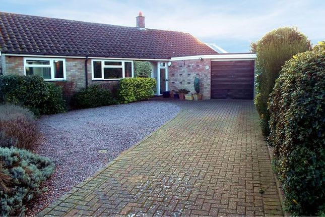 Thumbnail Detached bungalow for sale in Beauchamp Close, Chedgrave, Norwich