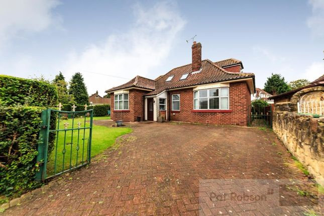 Thumbnail Detached bungalow for sale in Axwell Park Road, Blaydon-On-Tyne