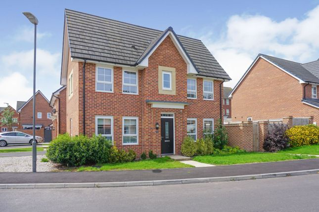 Thumbnail Detached house for sale in Honeysuckle Drive, Nantwich