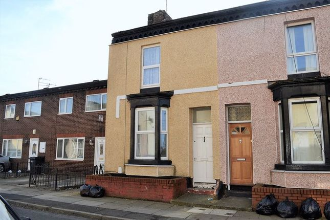 Thumbnail End terrace house to rent in Pope Street, Bootle