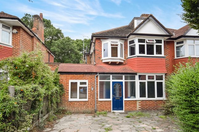 Thumbnail Semi-detached house for sale in Woodland Rise, Greenford, Middlesex