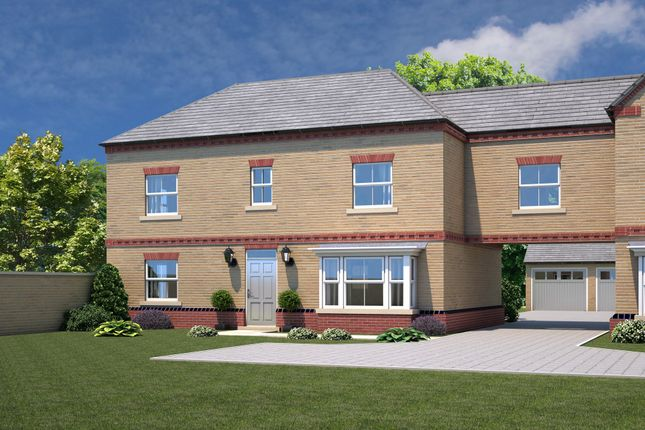 Thumbnail Link-detached house for sale in Elmete Lane, Roundhay, Leeds
