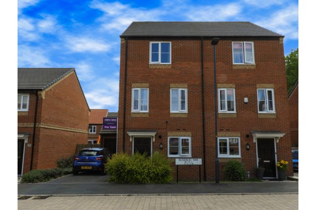 Thumbnail Town house for sale in Rosebud Way, Catterick Garrison
