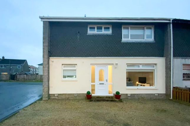 Thumbnail End terrace house for sale in Campbell Avenue, Stevenston