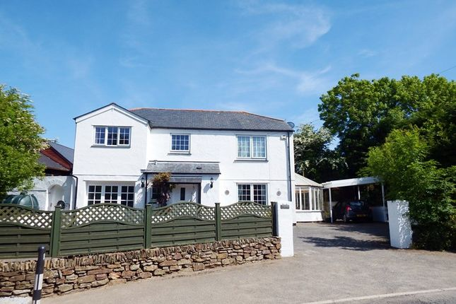 Thumbnail Detached house for sale in Penhallow, Truro