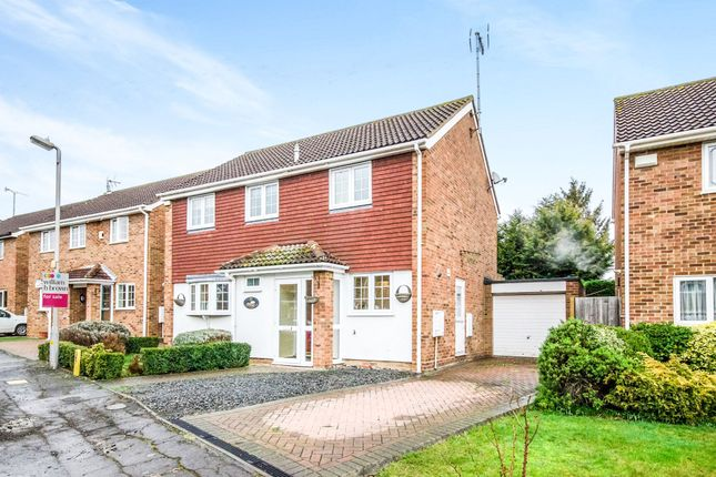 Thumbnail Detached house for sale in The Paddocks, Witham