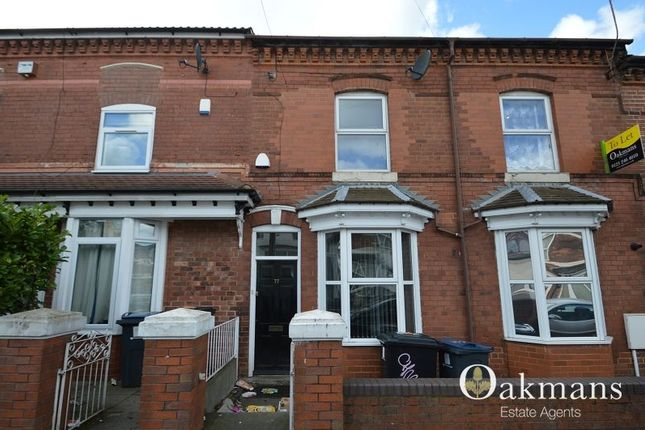 Thumbnail Terraced house for sale in Harrow Road, Birmingham, West Midlands.