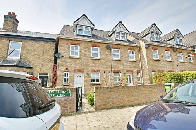 Thumbnail End terrace house to rent in Scotts Terrace, Dorset Road, London