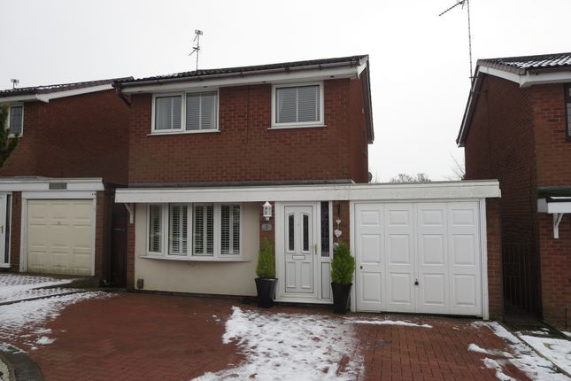 Thumbnail Detached house for sale in Aldeburgh Drive, Westbury Park, Newcastle