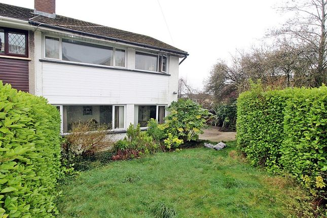 Thumbnail Semi-detached house for sale in Danygraig Crescent, Talbot Green, Pontyclun, Rhondda, Cynon, Taff.