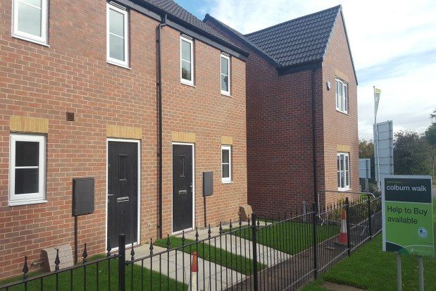 Thumbnail End terrace house to rent in Colburn, Catterick Garrison