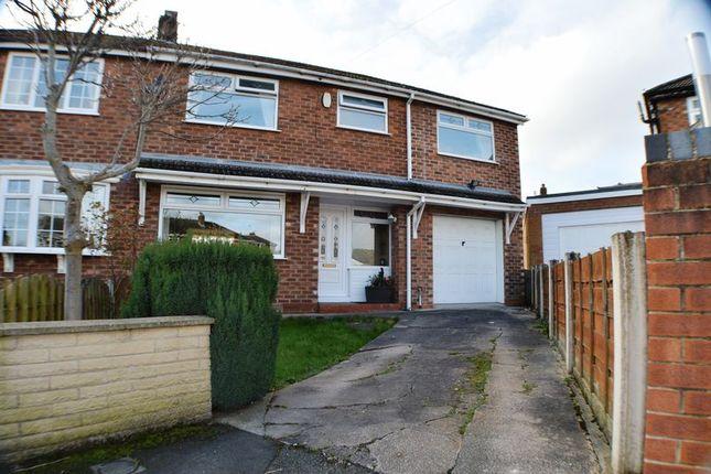 Thumbnail Semi-detached house for sale in Warren Close, Denton, Manchester