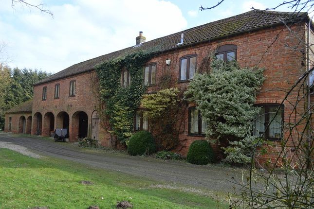 Thumbnail Country house for sale in Wirehill Lane, Wragby, Market Rasen
