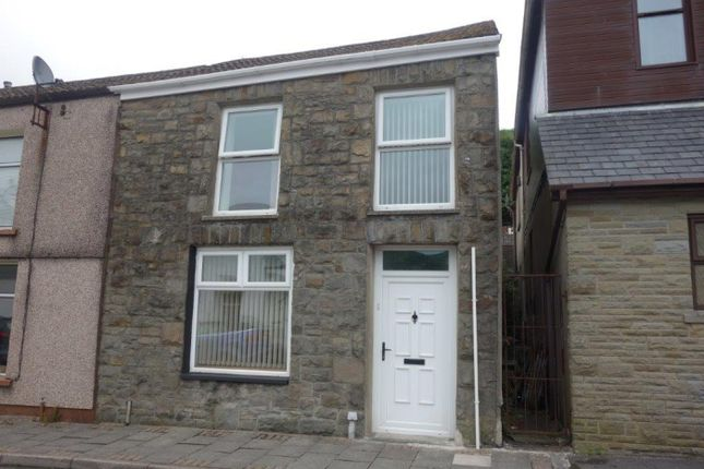 Thumbnail End terrace house to rent in Pleasant View, Ton Pentre