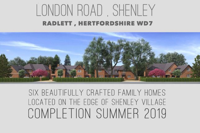 Thumbnail Semi-detached house for sale in London Road, Shenley, Radlett