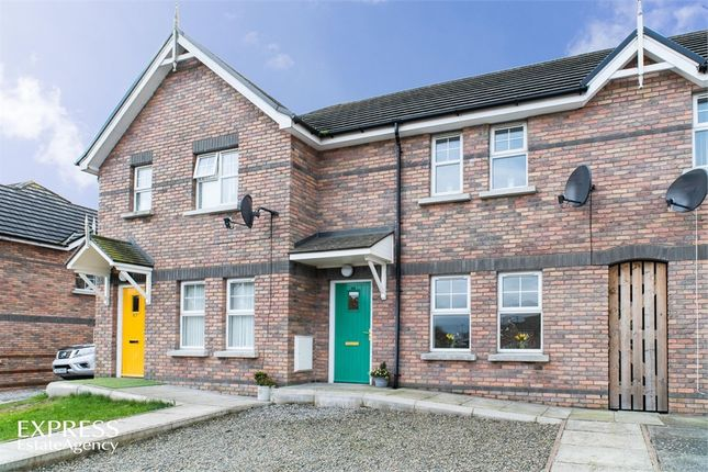 Thumbnail Terraced house for sale in Limewood, Banbridge, County Down
