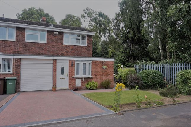 Thumbnail Semi-detached house for sale in Birchmoor Close, Birmingham