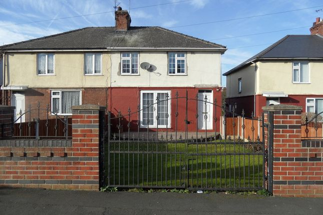 Thumbnail Semi-detached house for sale in Cemetery Road, Woodlands Doncaster
