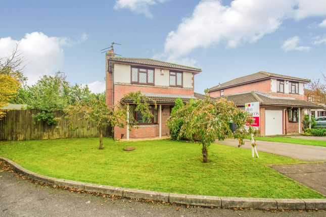 Thumbnail Detached house for sale in Cleddau Close, St. Mellons, Cardiff