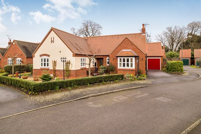 Thumbnail Detached bungalow for sale in Holly Court, Aston-On-Trent, Derby