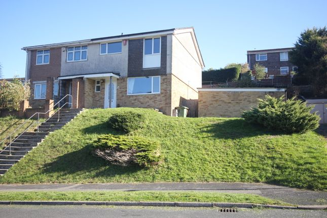 Thumbnail Semi-detached house to rent in Thirlemere Gardens, Looseleigh, Plymouth