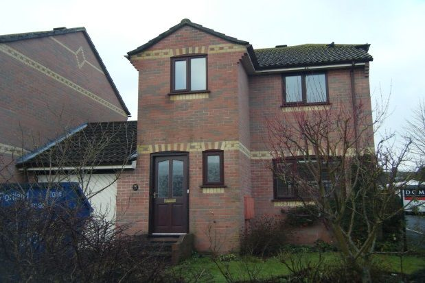 Thumbnail Detached house to rent in Hawthorn Close, Dorchester