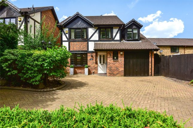 Thumbnail Detached house for sale in Old Monteagle Lane, Yateley, Hampshire