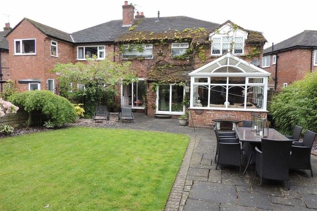 Thumbnail Semi-detached house for sale in Bakewell Road, Hazel Grove, Stockport