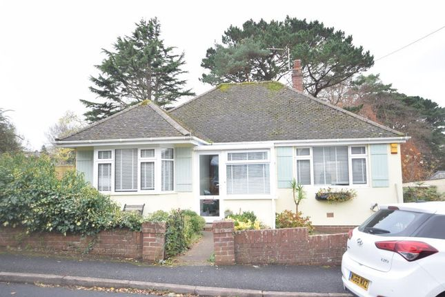 Thumbnail Bungalow to rent in Rectory Park, Bideford, Devon