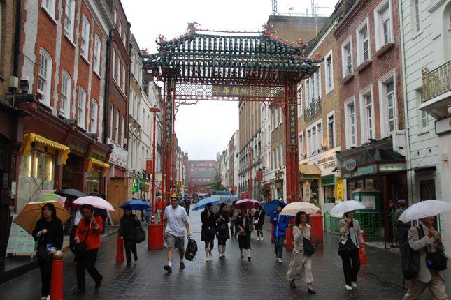 Gerrard Street, Chinatown W1D