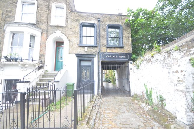 Thumbnail End terrace house to rent in Alderney Road, London