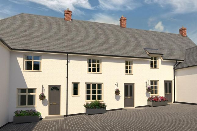 3 bed terraced house for sale in Buller Square, Mill Street, Crediton, Devon EX17
