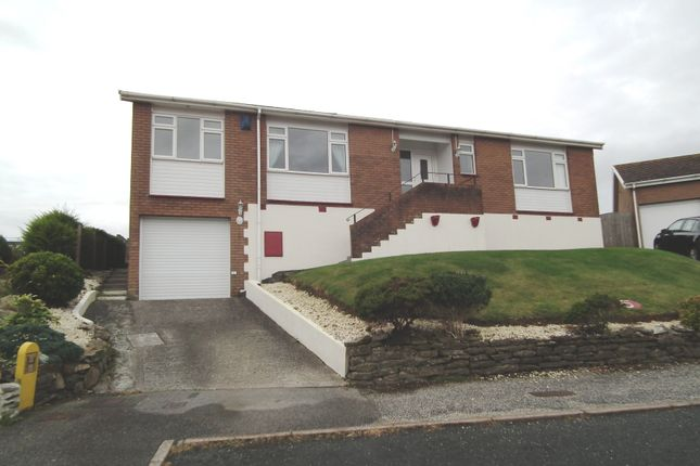 Thumbnail Detached bungalow for sale in Penarth, The Downs, West Looe