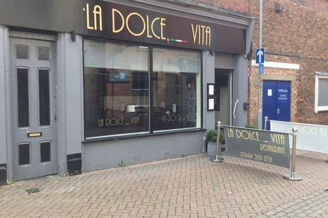 Restaurant/cafe for sale in 61 King Street, Melton Mowbray