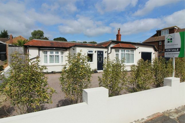 Thumbnail Detached bungalow for sale in De La Warr Road, Bexhill On Sea, East Sussex