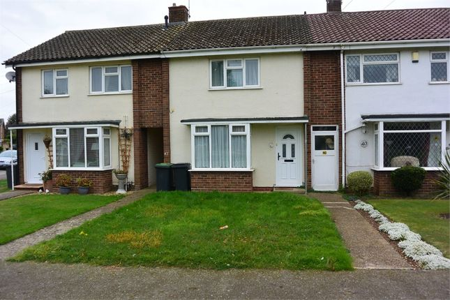 Thumbnail Terraced house for sale in Groveside, Henlow, Bedfordshire