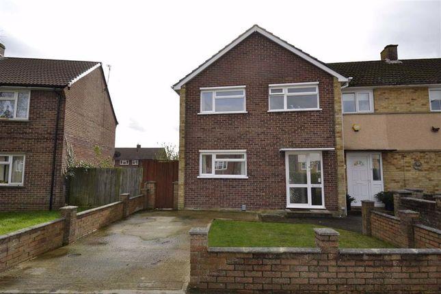 Thumbnail End terrace house for sale in Hopwood Close, Newbury, Berkshire